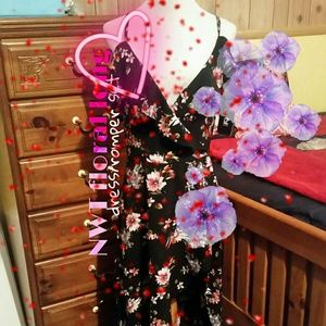 NWT floral dress/romper set 💓🌹